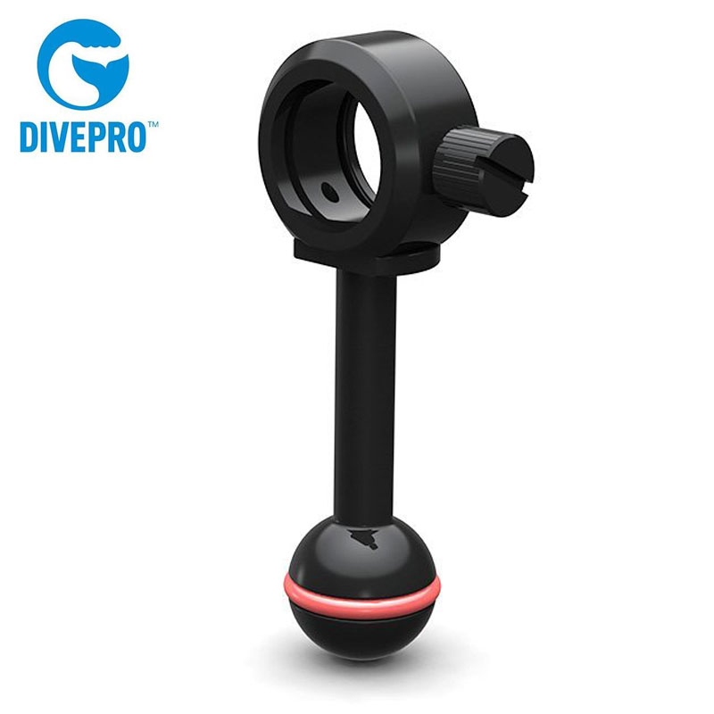 DIVEPRO ダイブプロ Z01B ボールジョイントブラケット 内径33mm 国内正規品 水中LEDライト スキューバダイビング 感謝価格 お値打ち価格で 水中撮影 水中カメラ スノーケリング スキンダイビング