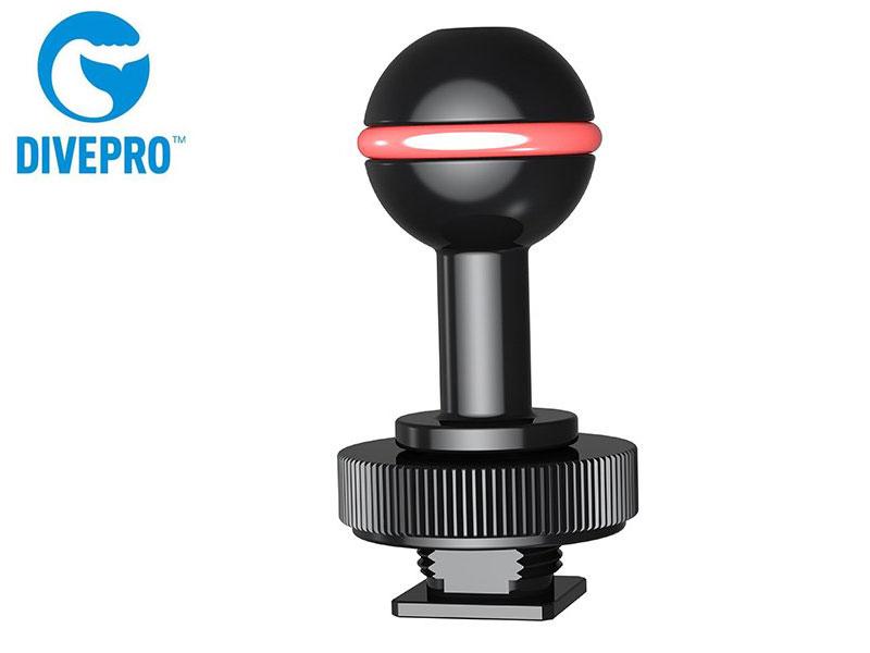 DIVEPRO 税込 ダイブプロ Z05 ホットシュー ボールマウント ホットシューベース 国内正規品 本日限定 水中カメラ 水中撮影 スノーケリング ストロボ 水中LEDライト スキューバダイビング スキンダイビング