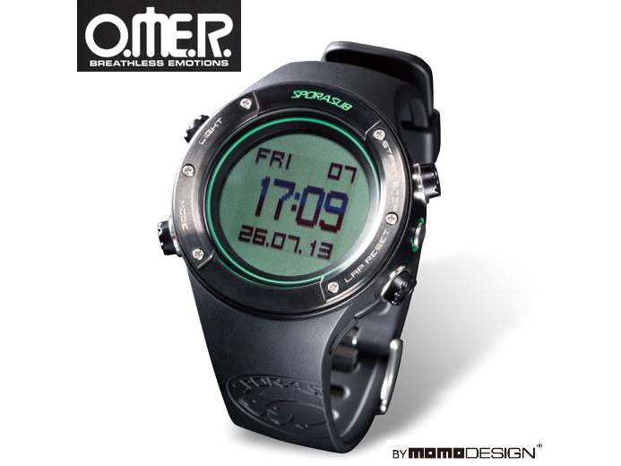 【O.ME.R.】SPORASUB SP-2 フリーダイビング専用リストコンピュータ 送料無料♪