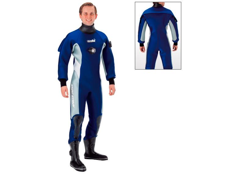 保温性重視♪APOLLO ADJ 02 ドライスーツ メンズ(404仕様) ●要在庫確認