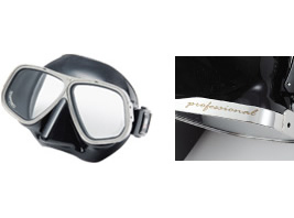 強靭なフレーム♪APOLLO バイオメタルマスク PRO [クロム]