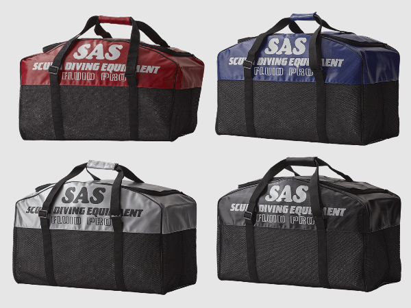 SAS フルードバックプロ 耐久性に優れたメッシュバッグ! ★送料無料