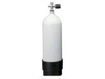 300気圧/29.4MPa/300kg/cm2 8L エアータンク ボンベ