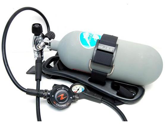 ボートのお手入れや緊急時に!お手軽スキューバセット 簡易潜水器具