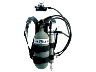 AQUALUNG(アクアラング) 4L緊急用フィルター付きタンクセット (マニホールド付き)