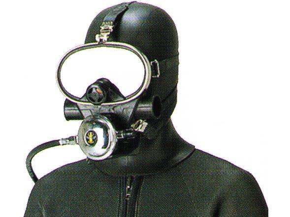 AQUALUNG(アクアラング) フード付きFマスク(フルフェイス)