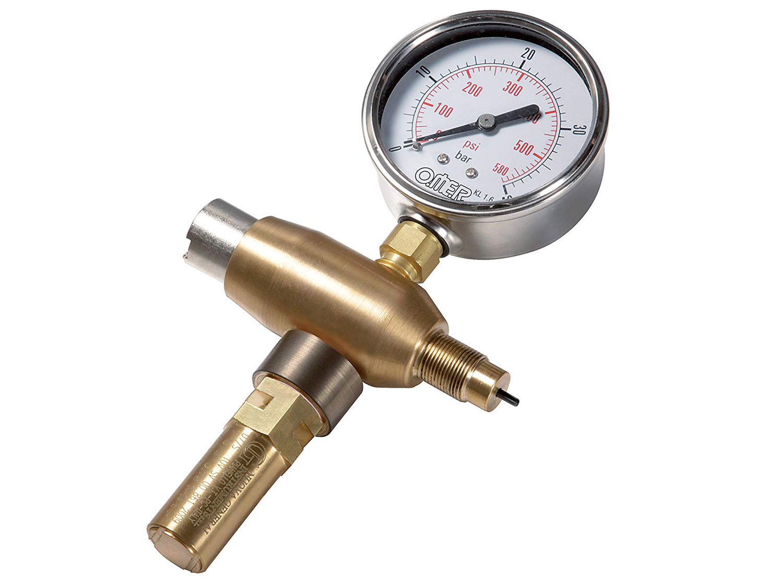 OMER(オマー)充填用ゲージ付きアダプター Pressure gauge [5503]