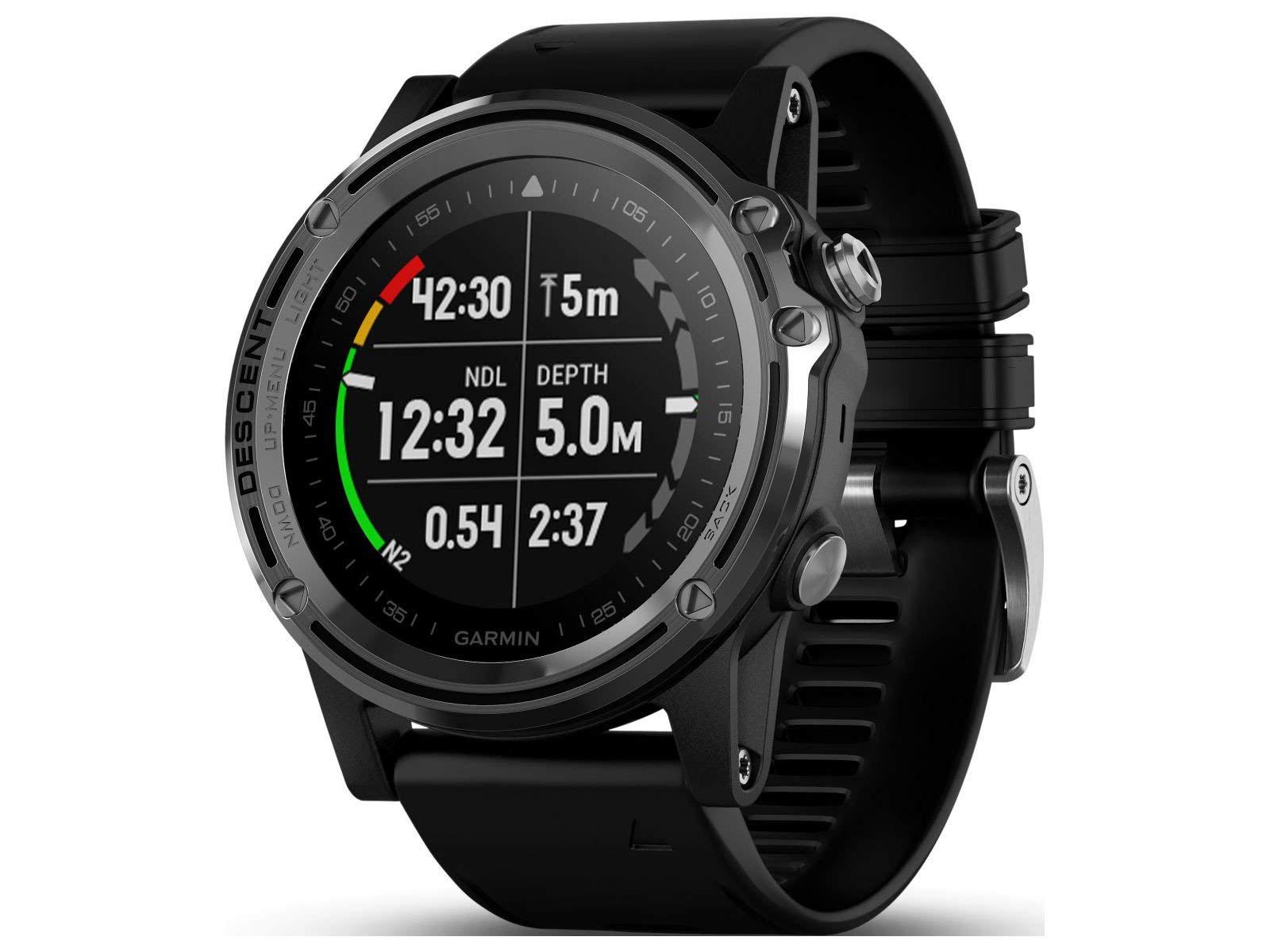 [あす楽] GARMIN(ガーミン)Descent Mk1 GPS内蔵 スマートウォッチ ダイビング 時計 ダイブコンピューター[010-01760-50]