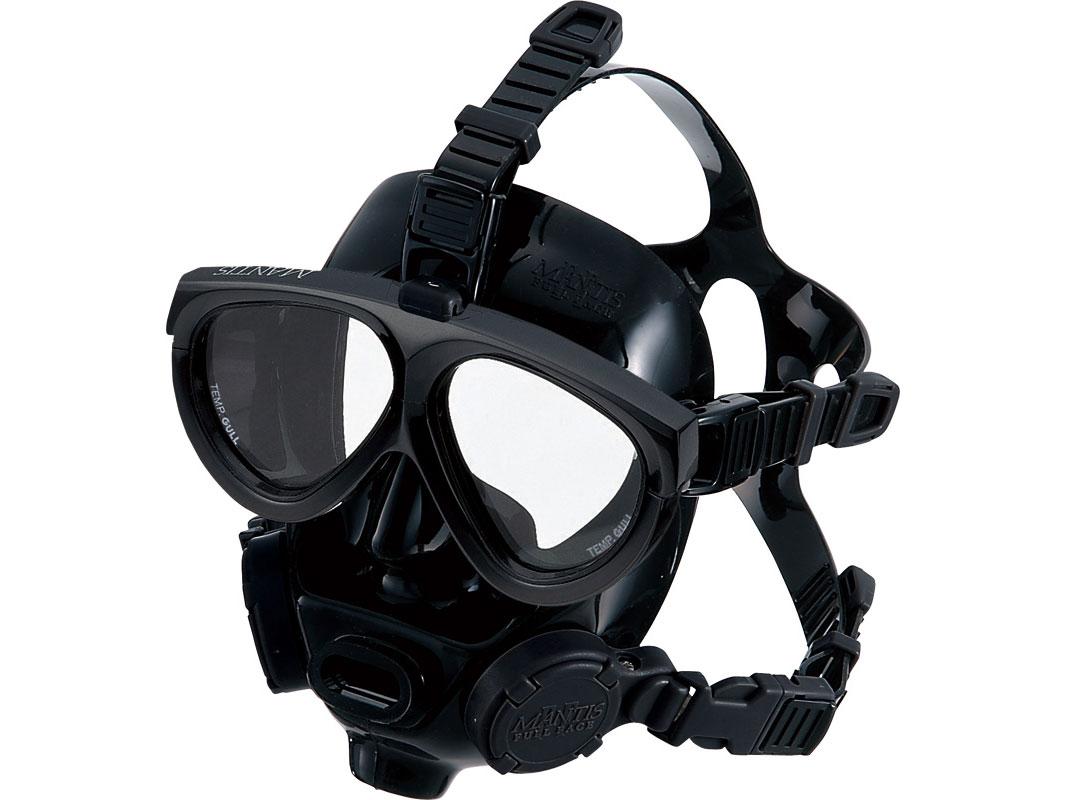 GULL MANTIS FULLFACE(マンティス フルフェイス マスク)[GM-1584・GM-1582] ★水中下での作業潜水向け ■送料無料