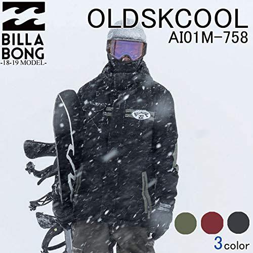 BILLABONG(ビラボン)スノーボード ウェア ジャケット OLD SCHOOL 18-19モデル メンズ[AI01M-758]