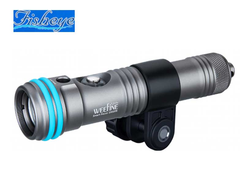 Fisheye フィッシュアイ WF Smart 訳あり商品 Focus ダイビング用水中ライト LIGHT 30530 1000FR 水中ライト お見舞い