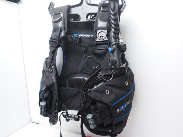 USED SeaQuest シークエスト PRO QD ウェイトポケット付きBCジャケット サイズ:M ランクA [38427]