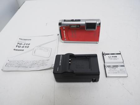 USED OLYMPUS オリンパス TG-610 コンパクトデジタルカメラ ランクA [39659]