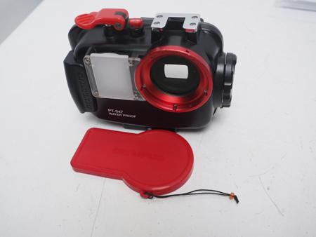 USED OLYMPUS オリンパス PT-047 防水プロテクター ハウジング [39661]