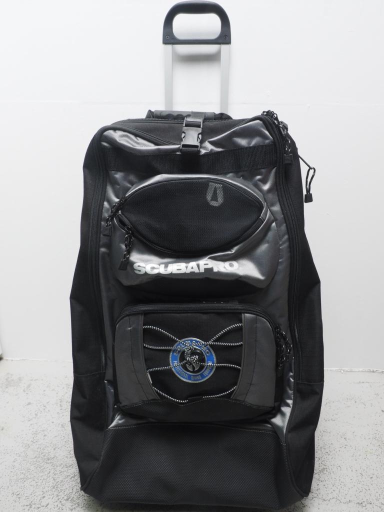 USED SCUBAPRO スキューバプロ ホイールバッグ2 シルバー ランクA [W39931AZ]
