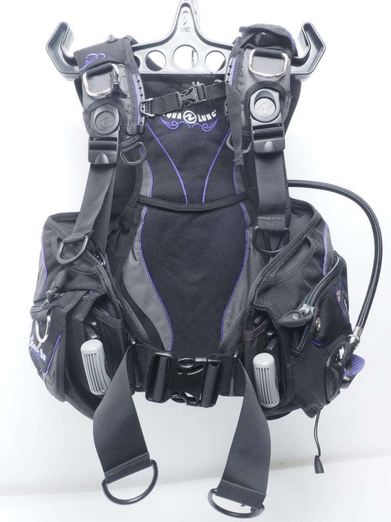 USED AQUALUNG アクアラング SOUL i3 ソールi3 レディース BCジャケット サイズ:XS/S ランクAA [W40179]