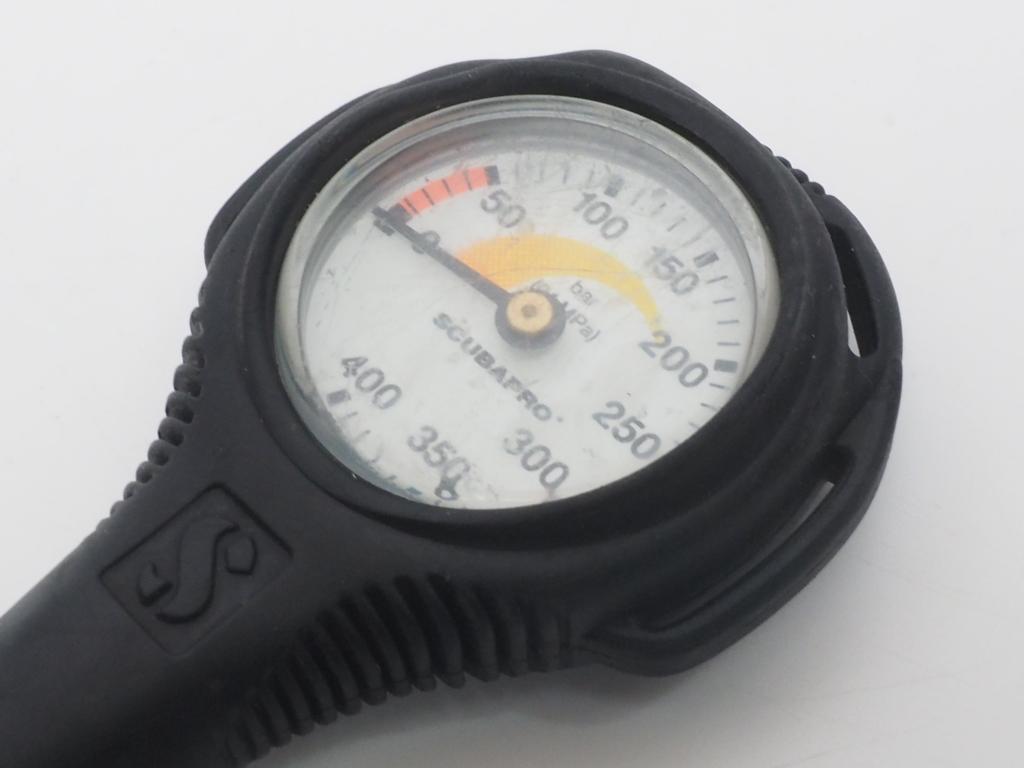 USED SCUBAPRO スキューバプロ シングルゲージ (残圧計) [40257]