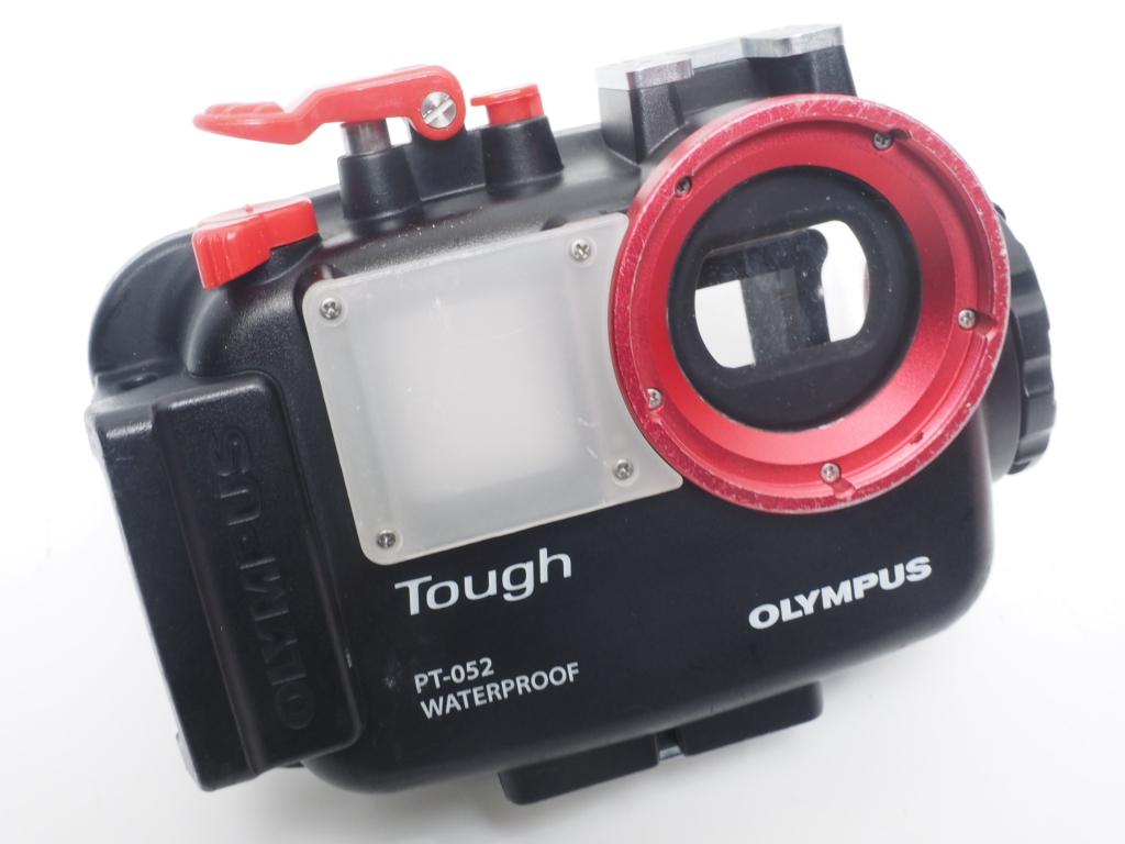 USED OLYMPUS オリンパス PT-052 防水プロテクター 水中カメラハウジング [40269]