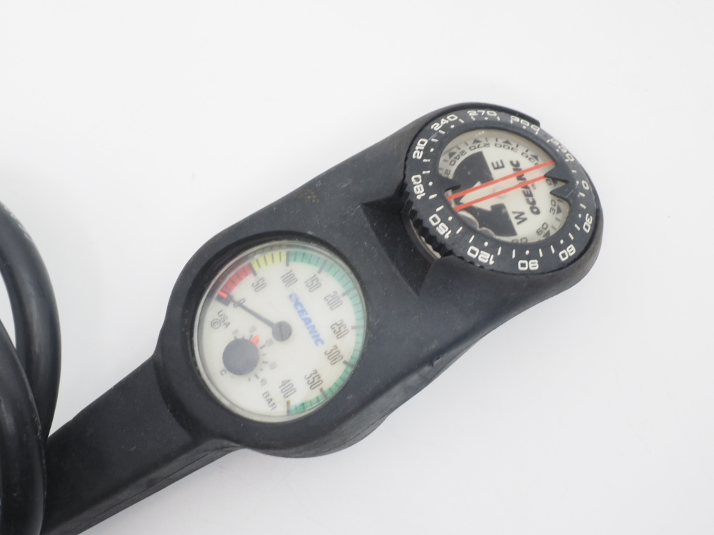 USED OCEANIC オーシャニック 2ゲージ (残圧計+コンパス) [40293]