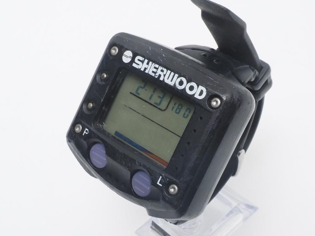 USED SHERWOOD シャーウッド ダイブブレイン ダイブコンピューター [40313]