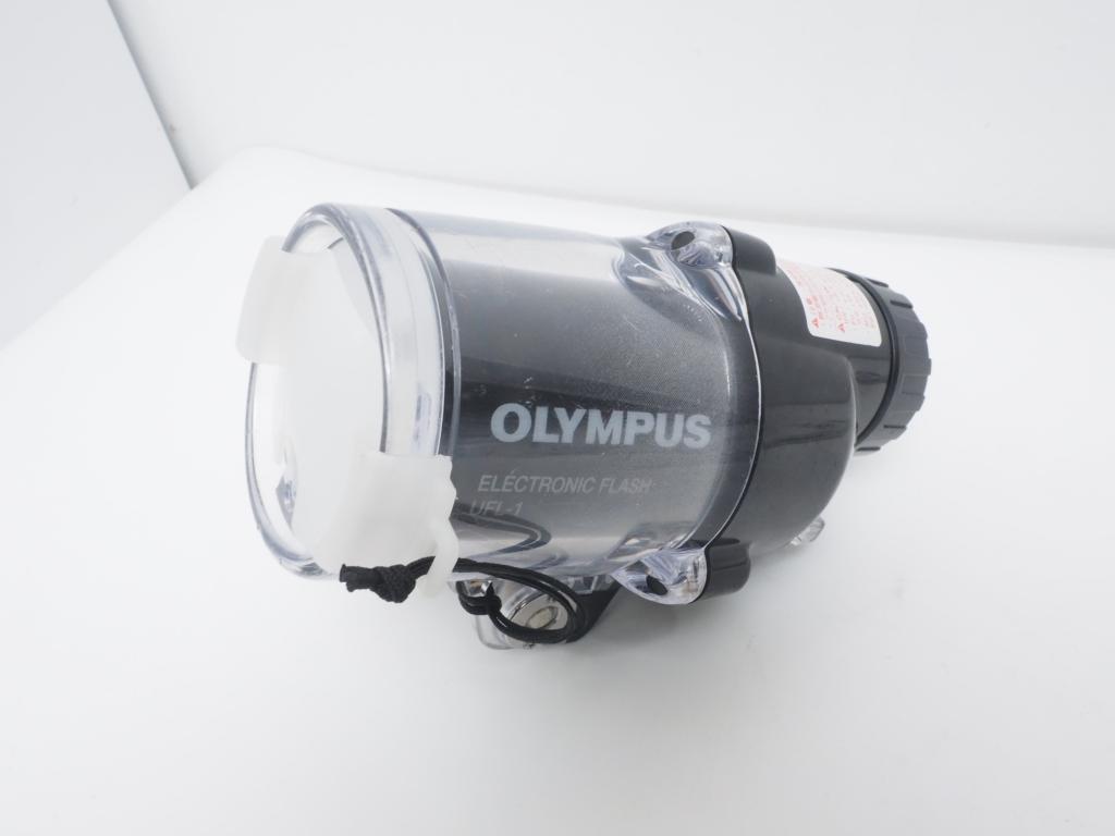 USED OLYMPUS オリンパス UFL-1 水中ストロボライト ランクA [40320]
