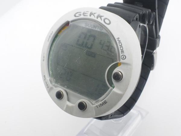 USED SUUNTO スント GEKKO ゲッコ ダイブコンピュータ バッテリー交換済み [40374]