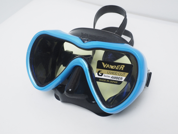 新品 未使用 GULL ガル VADER ベイダー ブラックシリコンマスク メタシーブルー [U40417]