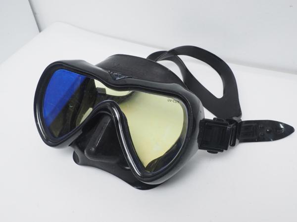 USED GULL ガル VADER ベイダー ブラックシリコンマスク ブラックパール [40418]