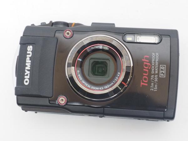 USED OLYMPUS オリンパス TG-03 デジタルカメラ ランクAA [40430]