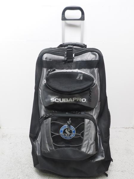 USED SCUBAPRO スキューバプロ ホイールバッグ2 シルバー ランクA [40566]
