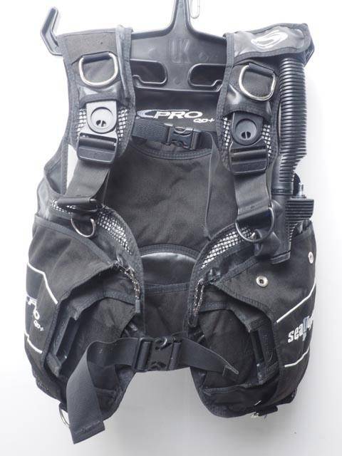 USED SeaQuest シークエスト PRO QD+ ウェイトポケット付きBCジャケット サイズ:S [40790]