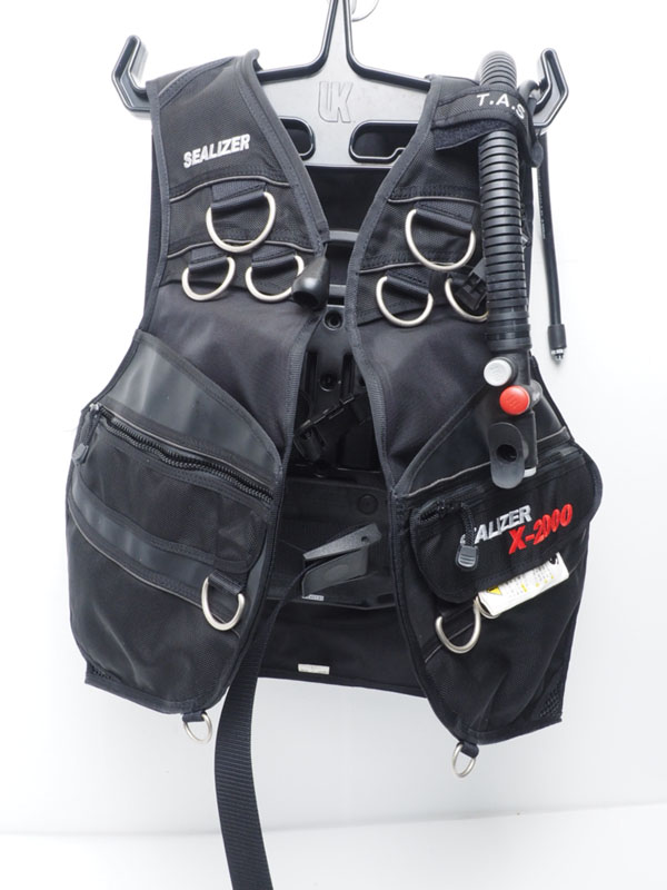 USED SAS エスエーエス SEALIZER X-2000 BCジャケット サイズ:L ランクAA [40829]