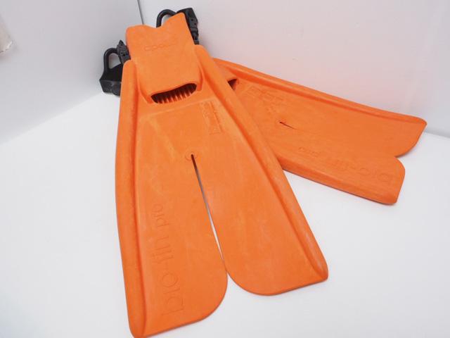 USED apollo アポロ Bio-Fin バイオフィンPRO オレンジ サイズ:M [41001]