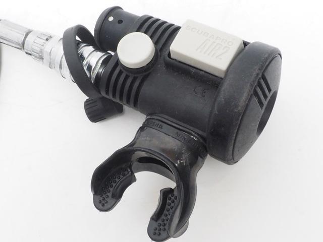 USED SCUBAPRO スキューバプロ AIR-2 3rd グレー インフレーターオクトパス [41011]