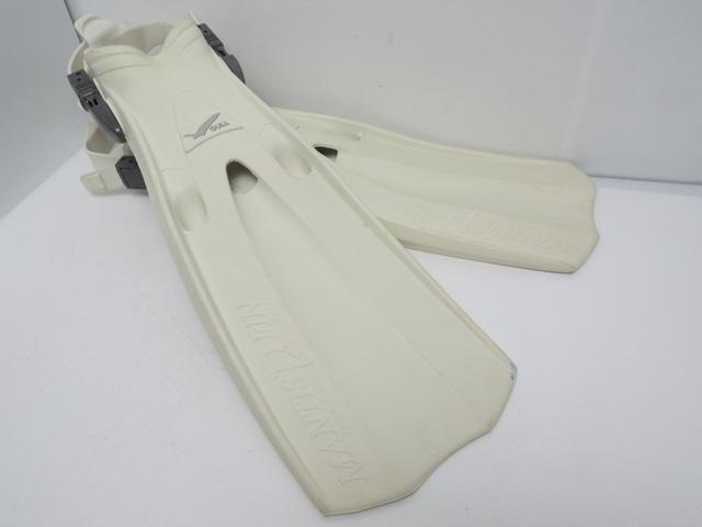 USED GULL ガル MANTIS DRY FIN マンティスドライフィン ホワイト S(22-25cm) [41051]