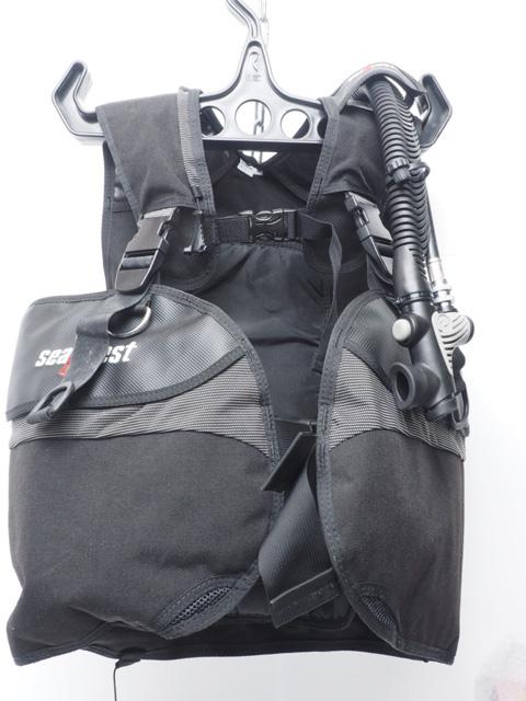 USED SeaQuest シークエスト WAVE ウェイブ BCジャケット サイズ:M 専用中圧ホース付き オーバーホール済 ランクA [41171]