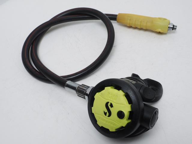 USED SCUBAPRO スキューバプロ R380 オクトパス レギュレーター オーバーホール済 ランクA [41212]