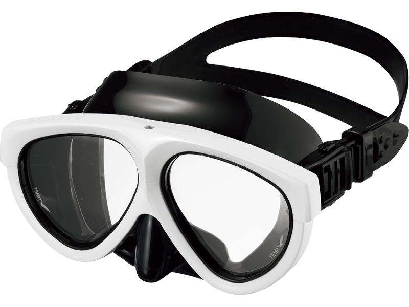 GULL (ガル) MANTIS マンティス ブラックシリコン スーパーホワイト [GM-1031] ダイビング用マスク スキューバダイビング スノーケリング スキンダイビング