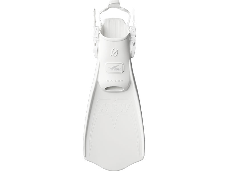 GULL(ガル) MEW CYPHER ミューサイファー ストラップフィン White ホワイト サイズ:S・M・L [GF-2332-2335]
