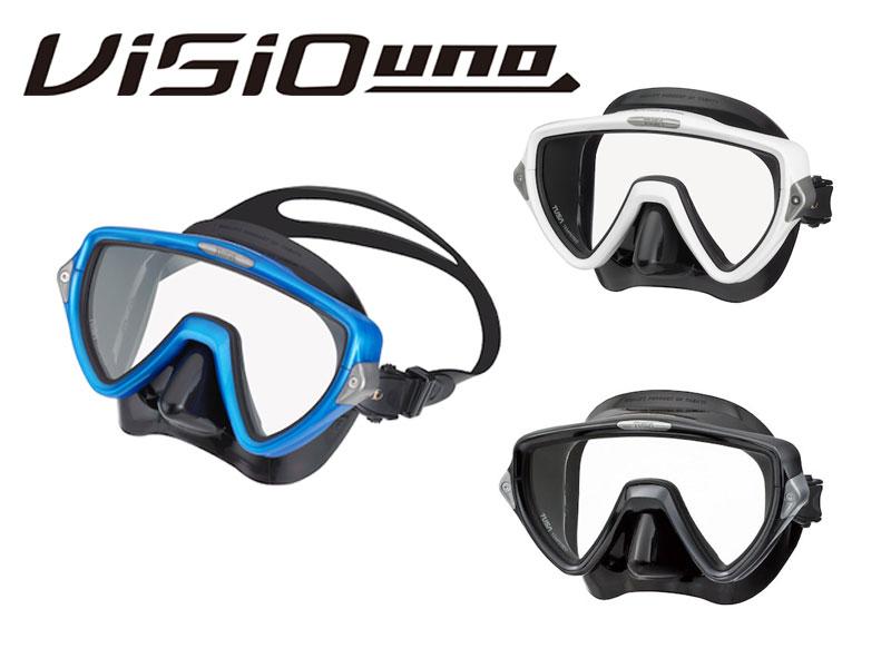 TUSA (ツサ) VISIO uno ヴィジオ ウノ [M19QB] ダイビング用マスク スキューバダイビング スノーケリング