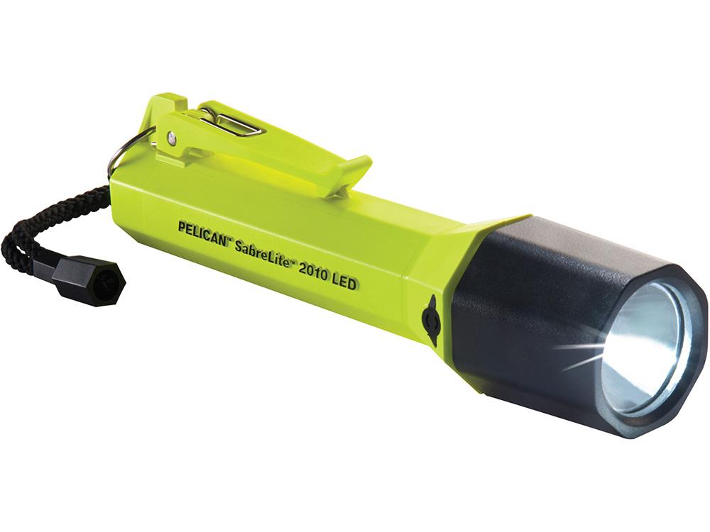 PELICAN(ペリカン)ライト 2010 セイバーライト フラッシュライト YELLOW [イエロー] 懐中電灯 LEDライト ペンライト