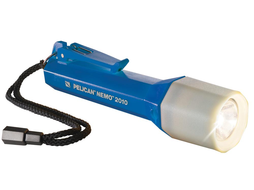 PELICAN(ペリカン)ライト 2010N ネモ ダイブライト BLUE [ブルー] LEDライト