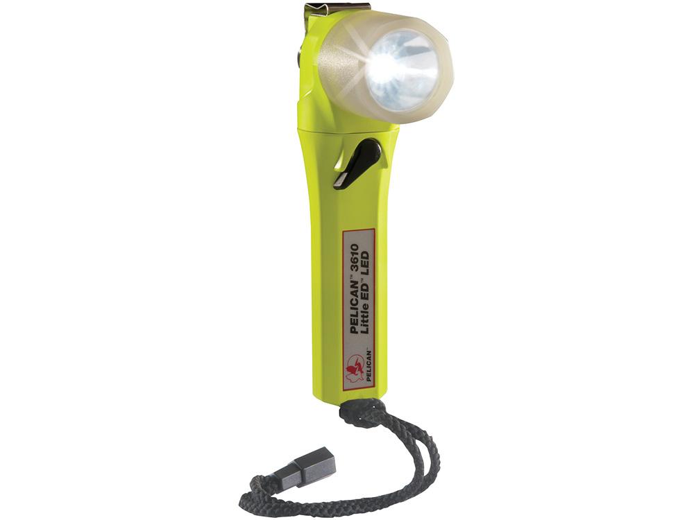 PELICAN(ペリカン)ライト 3610PL リトルエド ライトアングルライト YELLOW[イエロー] LEDライト 懐中電灯