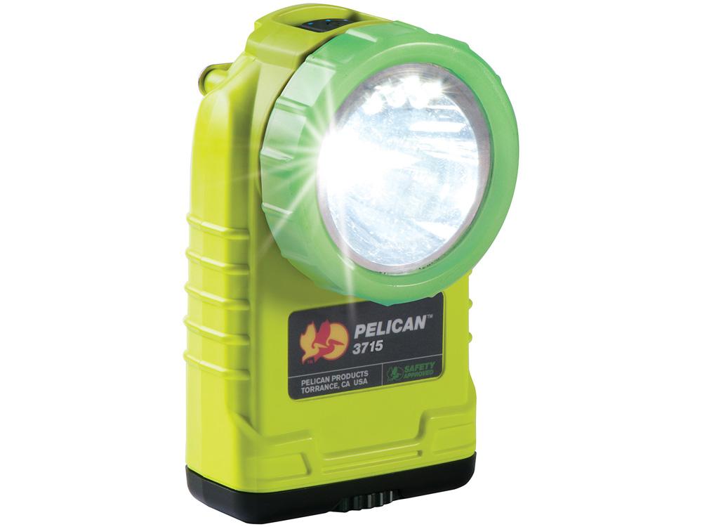 PELICAN(ペリカン)ライト 3715PL ライトアングルライト YELLOW[イエロー][3715-020-247] LEDライト 懐中電灯