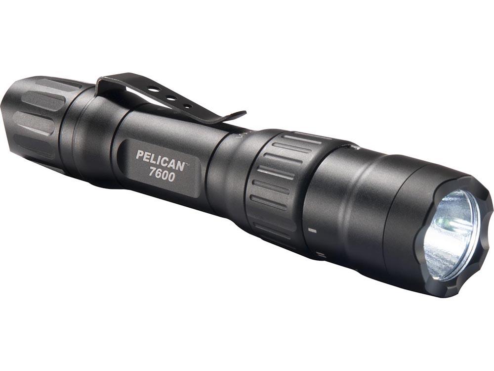PELICAN(ペリカン)ライト 7600 タクティカルライト BLACK[ブラック][076000-0000-110] LEDライト 懐中電灯 防水