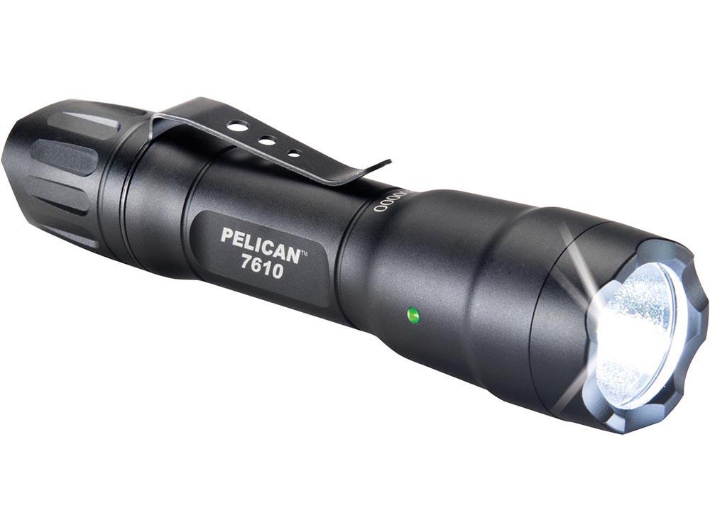 PELICAN(ペリカン)ライト 7610 タクティカルライト BLACK[ブラック][076100-0000-110] LEDライト 懐中電灯 防水