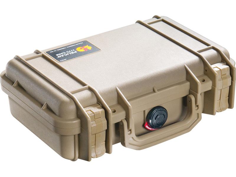 PELICAN(ペリカン) プロテクターケース 1170 フォーム付 DESERT TAN [デザートタン] [1170-000-190] 携帯電話 PCケース デジカメケース 保護ケース スキューバダイビング ハードケース