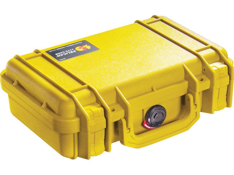 PELICAN(ペリカン) プロテクターケース 1170 フォーム付 YELLOW [イエロー] [1170-000-240] 携帯電話 PCケース デジカメケース 保護ケース スキューバダイビング ハードケース