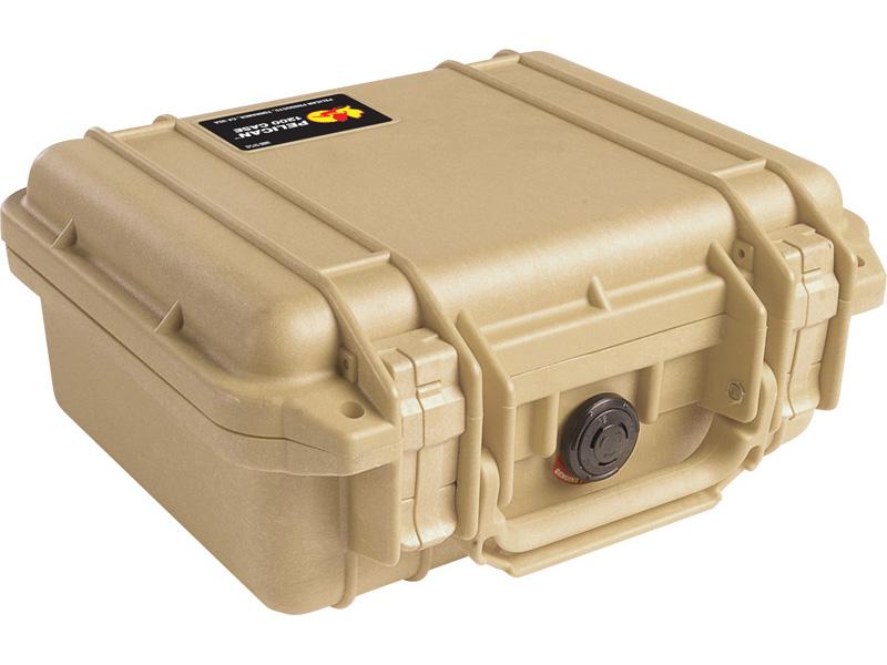 PELICAN(ペリカン) プロテクターケース 1200 フォーム付 DESERT TAN [デザートタン] [1200-000-190] 携帯電話 デジカメケース 保護ケース スキューバダイビング ハードケース