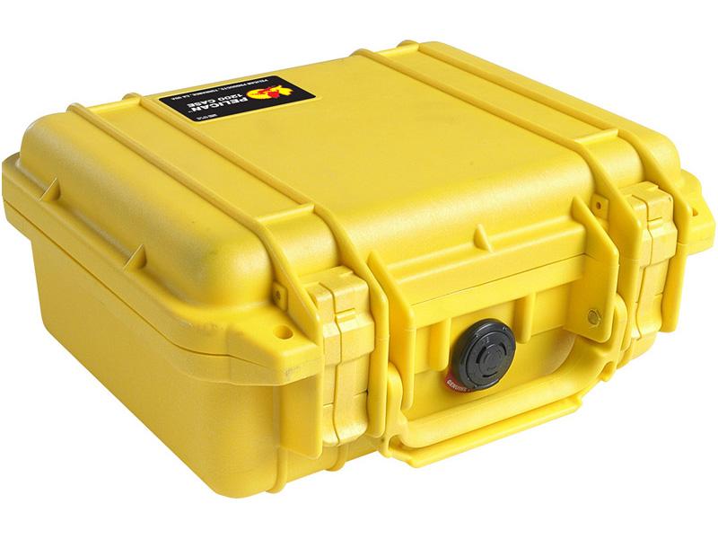 PELICAN(ペリカン) プロテクターケース 1200 フォーム付 YELLOW [イエロー] [1200-000-240] 携帯電話 デジカメケース 保護ケース スキューバダイビング ハードケース